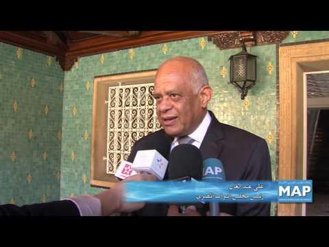 رئيس الحكومة يجري مباحثات مع رئيس مجلس النواب المصري
