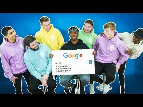 SIDEMEN ANSWER THE MOST SEARCHED GOOGLE QUESTIONS