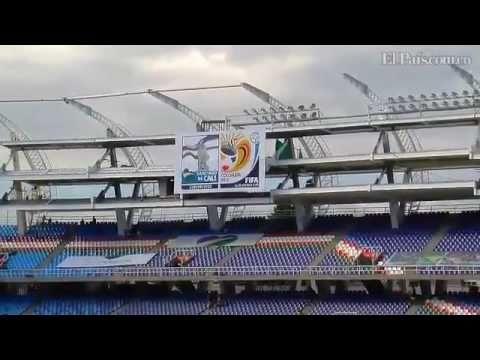Alcalde entrega el 'Pascual Guerrero' para el Mundial Sub 20