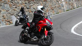 9. Multistrada 1200s down Stelvio pass