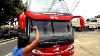 Video NEW!! Pertama Kalinya, Bus SDD Masuk Terminal Bus Parung Bogor (Bus SDD Agra Mas Scania K410) MP3, 3GP, MP4, WEBM, AVI, FLV Juli 2018