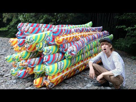 男子將60顆巨型氣球綁住拋飛 結果讓人看傻眼!