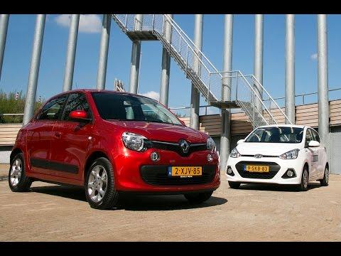 Dubbeltest – Renault Twingo vs Hyundai i10