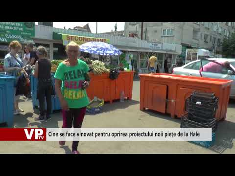 Cine se face vinovat pentru oprirea proiectului noii piețe de la Hale