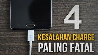 Video 4 Kesalahan FATAL Saat Charge Smartphone MP3, 3GP, MP4, WEBM, AVI, FLV November 2017