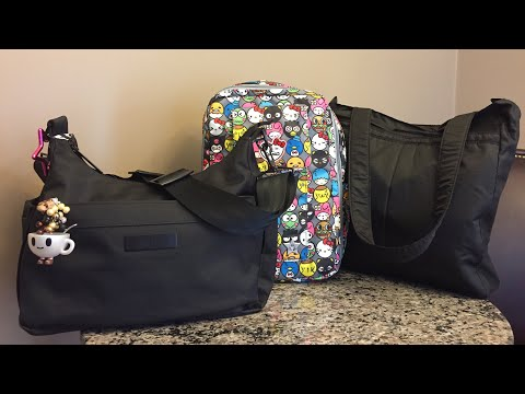 Ju Ju Be Bags Packed For 3 | Collab With Busy With Five & Mommy Jo 13 #jujubecc