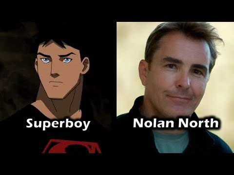 Characters and Voice Actors - Young Justice (Season 1)