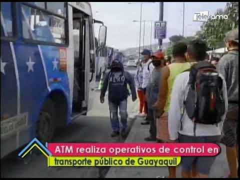 ATM realiza operativos de control en  transporte público de Guayaquil