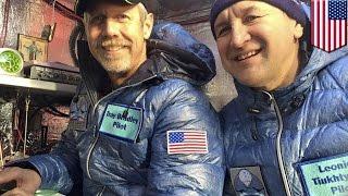 佐賀発のガス気球が太平洋横断成功 世界記録認定へ