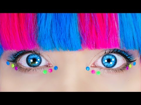 DIY Hair Hacks! 12 DIY Hair Accessories & Hairstyles for Girls (видео)