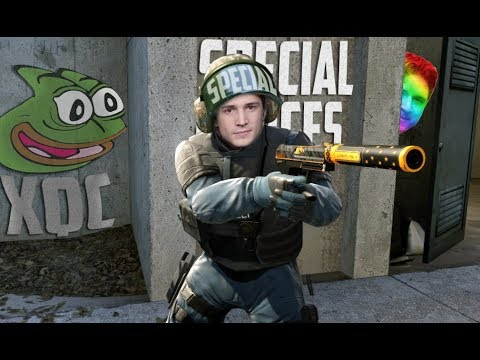 xQc - CSGO WITH A SIDE OF AUTISM видео