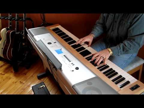 Greg Jones - Yamaha Porta Grand
