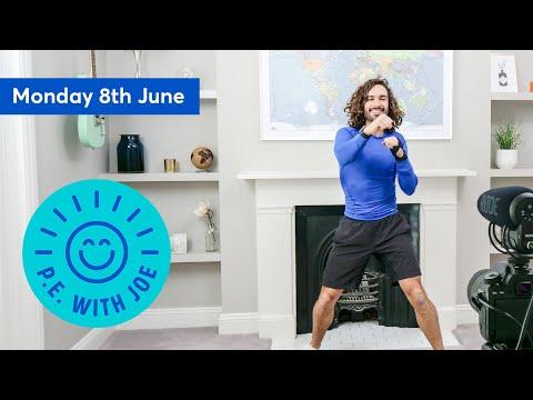PE With Joe   Monday 8th June