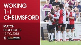 Video Woking 1-1 Chelmsford City   Match Highlights MP3, 3GP, MP4, WEBM, AVI, FLV Oktober 2018