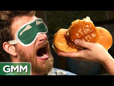11 • E36___  _    Blind Chicken Sandwich Taste Test