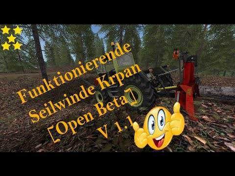 Fully working winch KRPAN [Open Beta]