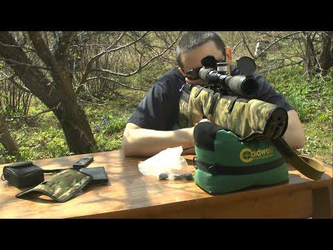 Стрельба Edgun Matador R3М 6.35 банка Coca-Cola 120 метров пули 2.2g (видео)