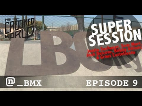 BMX Super Session At The New Long Beach Skate Park