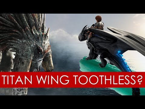 Is Toothless A Titan Wing? Theory [how To Train Your Dragon]