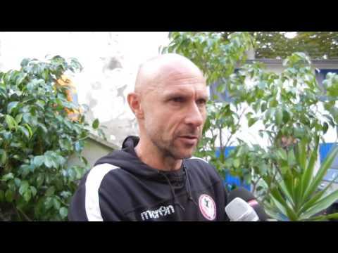 Prato-Arezzo 0-2, intervista con Stefano Sottili