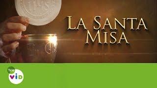 Tele VID te ofrece la Misa diaria, Hoy Sábado 12 De Agosto La Santa Misa oficiada por el Sacerdote Juan Fernando Posada.