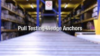 Hydrajaws 2008 Heavy Duty Pull Test on Wedge Anchors