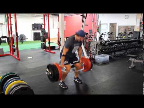 Deadlift Triples At 60% 1RM