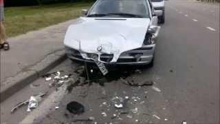 Koniec pajacowania! Czyli jak Taxi debil z Lublina kasuje swoje BMW!