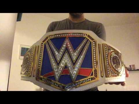 WWE Smackdown LIVE Women's Championship review (commemorative )