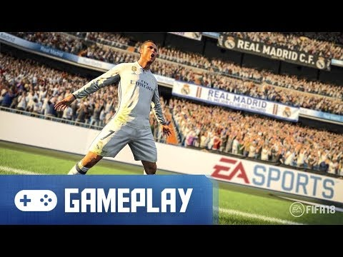 FIFA 18 Gameplay (Real Madrid Vs. Chelsea)