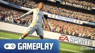 FIFA 18 Gameplay (Real Madrid vs. Chelsea)
