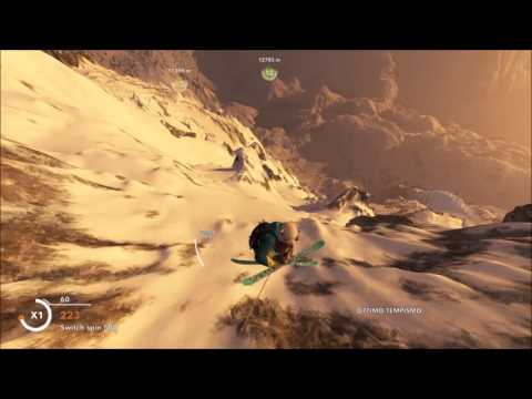Live young, wild and free #steep mountage (видео)