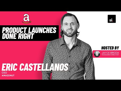 Product Launches Done Right ft. Eric Castellanos of AmazonLit