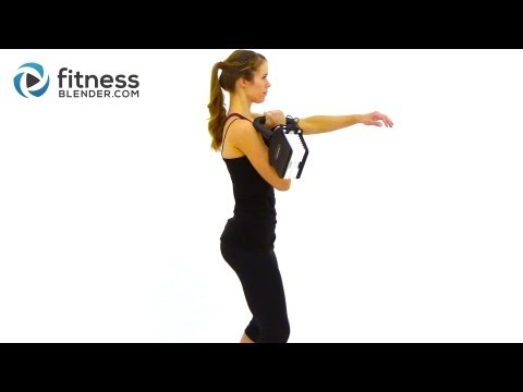 Fitness Blender's Beginner Kettlebell Workout – Kell's Kettlebells Routine for Total Body Toning