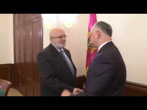 Președintele țării a avut o întrevedere de lucru cu misiunea BIDDO OSCE