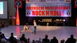 Chantal Roos & Pascal Roos - Bayerische Meisterschaft 2014