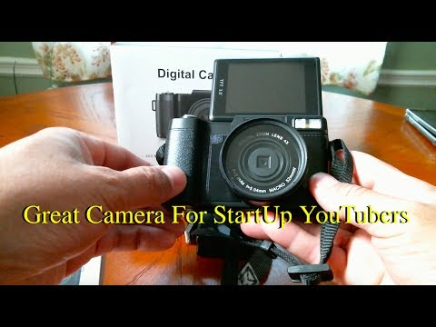 SWEET CAMERA WITH FLIP UP AMOLED 3.0 SCREEN 1080P 24MP SWAPPABLE LENS TELEPHOTO