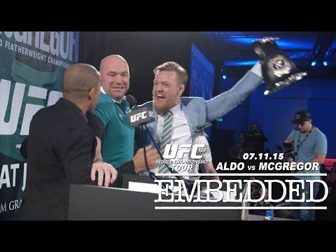 UFC 189 World Championship Tour Embedded: Vlog Series – Episode 10