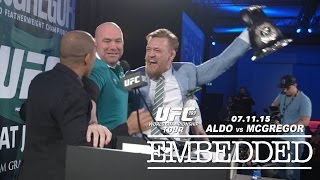 UFC 189 World Championship Tour Embedded: Vlog Series - Episode 10