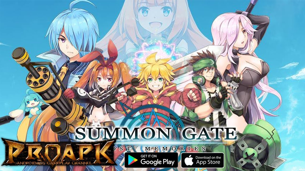 summon gate gameplay android    ios - proapk