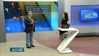 """Bom Dia Paraíba – Quadro """"Eu Quero Saber"""" – 08.11.2016"""