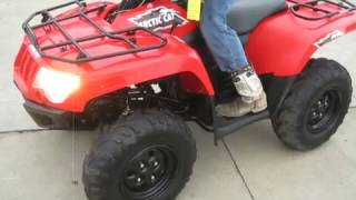 7. 2015 ARCTIC-CAT 500 4X4 $2800 FOR SALE WWW.RACERSEDGE411.COM