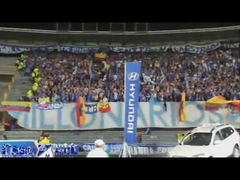 Blue Rain y Los Comandos Azules / Fecha 5 Liga Postobón 2012-II / Millonarios vs Once Caldas (2-1) - Comandos Azules - Millonarios