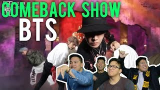 Video BTS COMEBACK SHOW Reactions (Mic drop, DNA, Go Go + No more dream) MP3, 3GP, MP4, WEBM, AVI, FLV Juli 2018