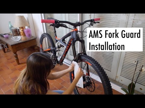 AMS Fork Guard installation - All Mountain Style (видео)