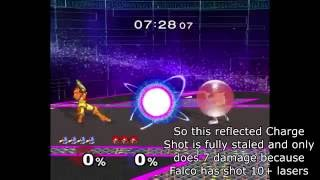 New(?) Melee Discovery: Reflected projectiles take the stale move queue of the opponent's move with the same command