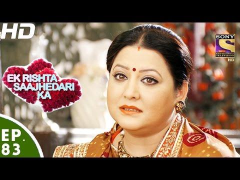 Ek Rishta Sajhedari ka - एक रिश्ता साझेदारी का - Episode 83 - 30th November, 2016