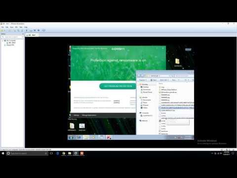 Wannacry Vs Kaspersky Anti Ransomware Tool [it works!]