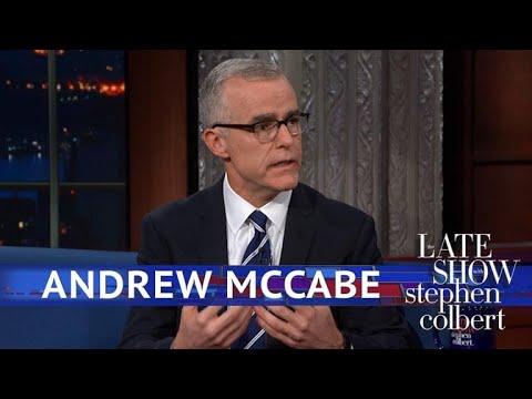 Andrew McCabe Had Robert Mueller As A Boss