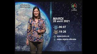 Retrouvez la météo du Mardi 20 Avril  2021